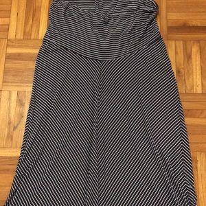 Motherhood Maternity maxi skirt, Small
